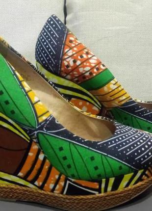 Эффектные туфли aldo на платформе