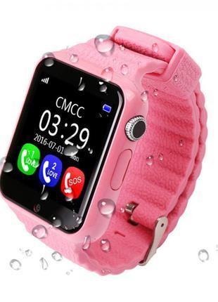 Оригинальные умные детские часы v7k - smart baby watch v7k. лучшая цена наложенный