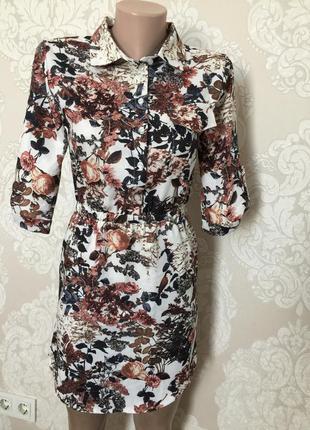 Платье- рубашка/ туника