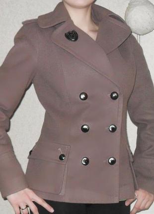 Пальто (куртка) в стиле милитари