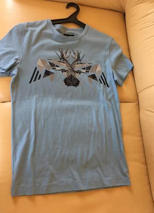 Мужская футболка dirk bikkembergs новая