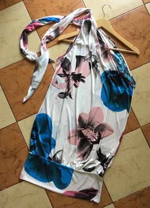 Платье, туника на одно плечо miss sixty