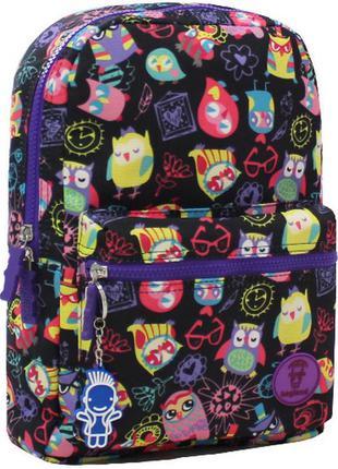 Рюкзак, ранец, городской рюкзак, спортивный рюкзак, совы, маленький рюкзак