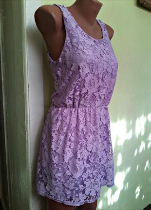 Платье с кружевом от new look generation