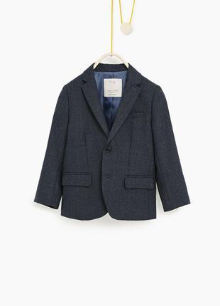 Школьный пиджак zara, с оф. сайта в испании, размер 164