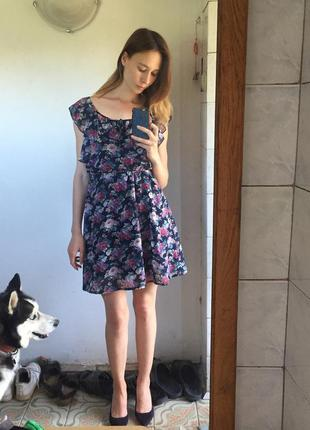 Чудесное платье в рюши new look