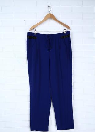 Батал брюки mango штаны батал большой размер бэгги летние брюки