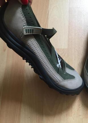 Туфли мокасины lands end
