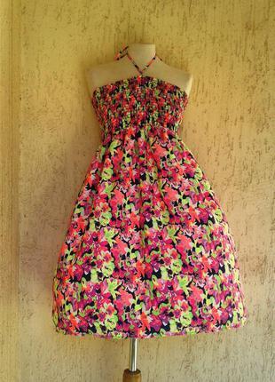 Шелковое платье, l-xl.