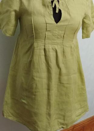 Легкое льняное платье, туника