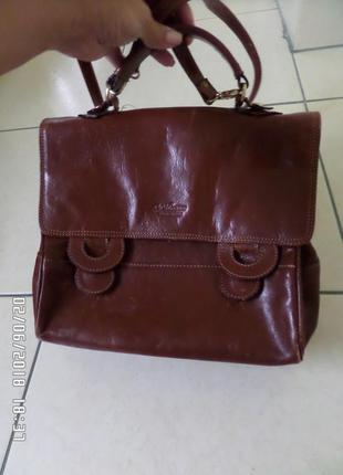 Valentino шкіряна сумка італія