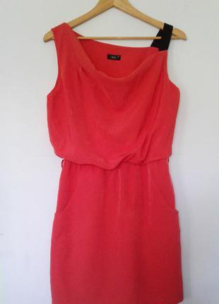 Платье миди/платье с карманами