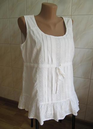 Красивая летняя маечка-блузка от marks&spencer