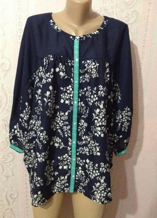 Блуза - туника monsoon xxl - xxxl
