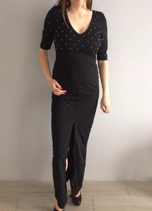 Платье h&m чорное