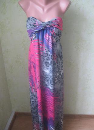 Шикарное платье бюстье.