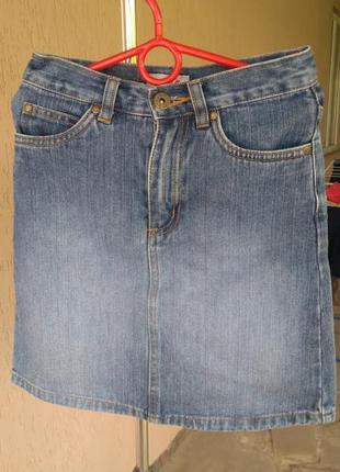 Джинсовая юбка h&m duster