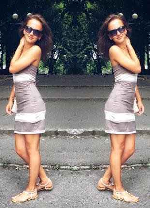 Обтягивающие платье новое, очень крутое