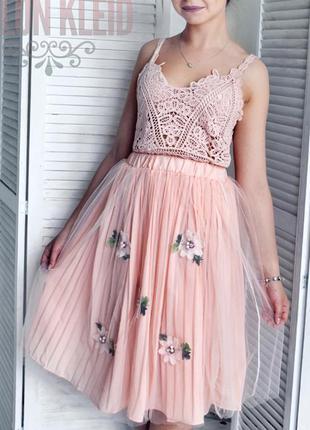 Очень красивая фатиновая юбка 💖