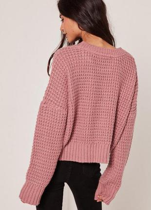Розово-сиреневая туника-мини-платье gina tricot, xs-s
