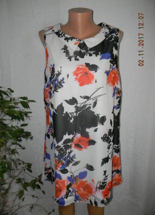 Новое платье прямого кроя f&f