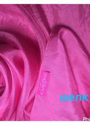 """Франция/ оригинал шелковый шарф из натурального шелка 100% """"pure"""""""