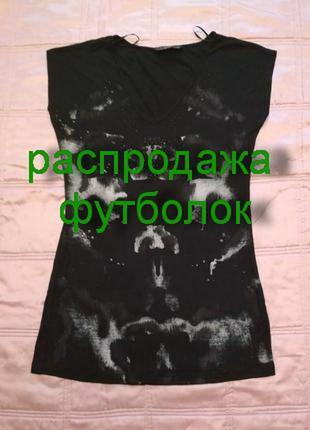 Удлиненная футболка f&f размер 10-12