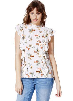 Романтическая блуза в викторианском стиле р.m-l  из англии