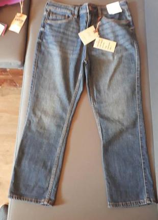 Укороченные джинсы f&f, 38