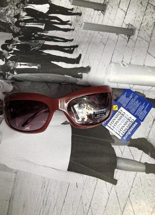 Солнцезащитные очки от дизайнеров высокой моды leonardo (италия)