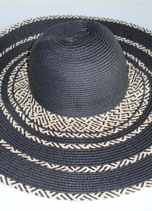 Шикарная широкополая шляпа бренда c&a - германия