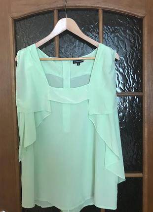 Cупер блуза от warehouse 100% шелк