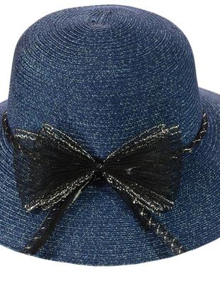 Шляпа широкополая из соломки 56-58