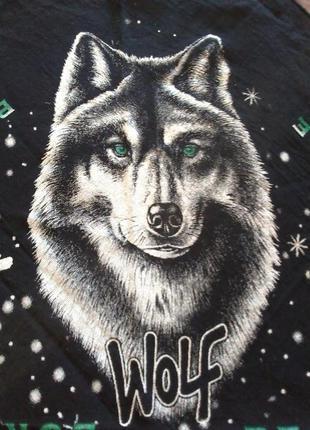 Бандана із вовком. волк.