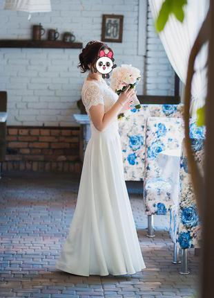 e8eb8c75591dc4 Белые платья-макси 2019 - купить недорого вещи в интернет-магазине ...