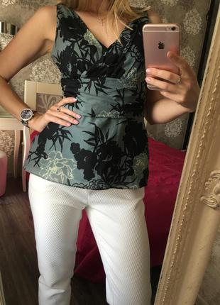 Шёлковая (28 %шёлк ) блузка