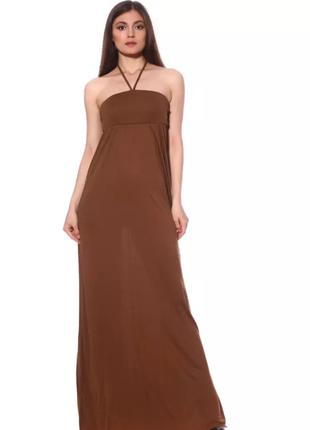 Длинное летнее платье в пол от pink woman