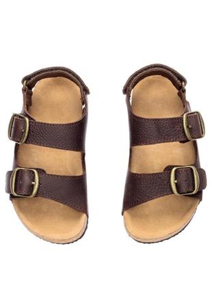 Кожаные сандалии, босоножки, ортопеды, premium, h&m, 29, 30