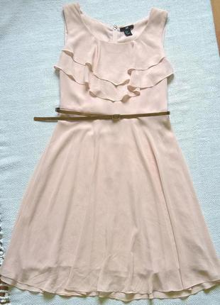 Платье миди h&m, m