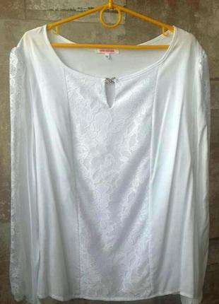Gepur этническая белая блузка
