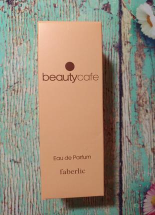 Парфюмерная вода для женщин beauty cafe faberlic