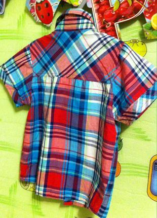 Рубашка на мальчика 5-6 лет. венгрия.