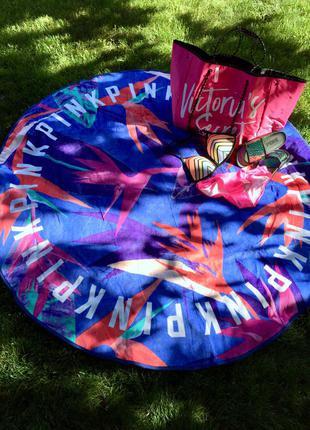 Пляжное полотенце покрывало плед виктория сикрет оригинал
