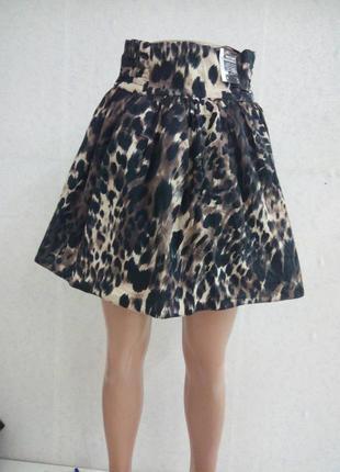 Новая юбка для любительниц леопарда