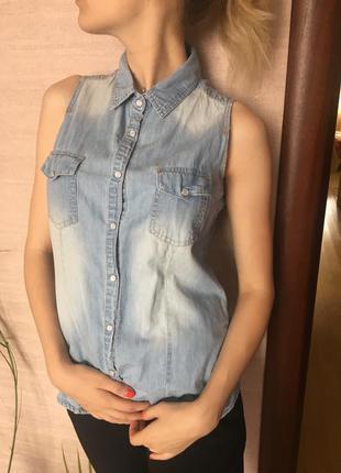 Джинсовая рубашка, джинсова рубашка