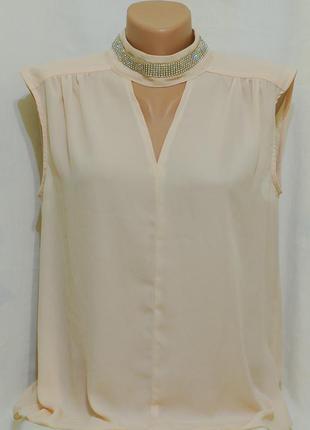 """Шикарная блуза с v-образным вырезом """"classic tricot"""""""