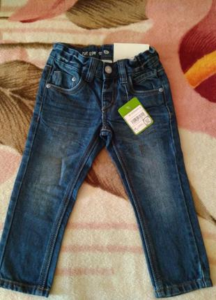 Новые стильные джинсы на мальчика р.92 фирмы palomino c&a