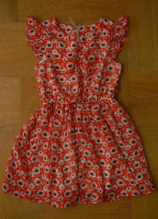 116 см next как новое шифоновое фирменное платье. длина - 64 см