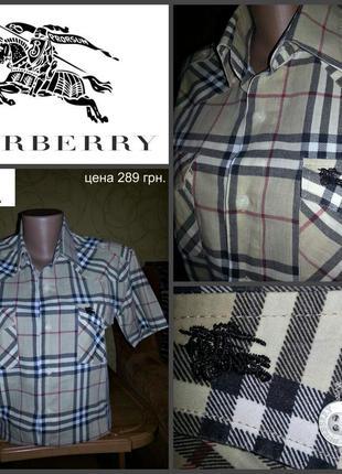 Рубашка от burberry. 100% оригинал р.s, новая.