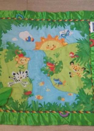 "Продам детский развивающий коврик ""тропический лес-deluxe"" fisher pri"